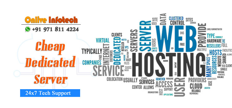 Choose Dedicated Server Plans with Range of Specification from Onlive Infotech