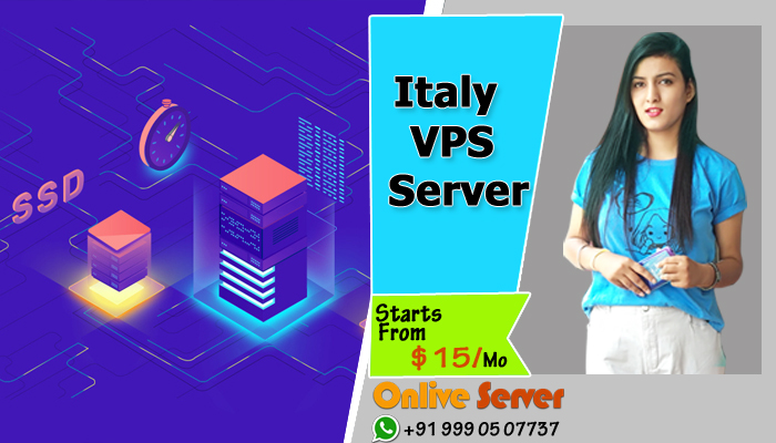 Buy 10X Fastest Italy VPS Server Hosting with 99.9% Uptime - Onlive Server